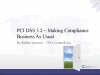 PCI DSS 3.2 – Making Compliance Business As Usual