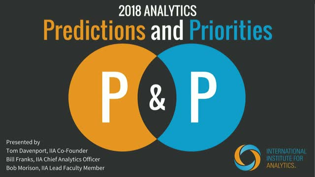 IIA's 2018 Predictions & Priorities