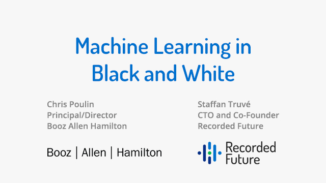 Machine Learning in Black and White