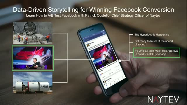 Data-Driven Storytelling for Winning Facebook Conversion