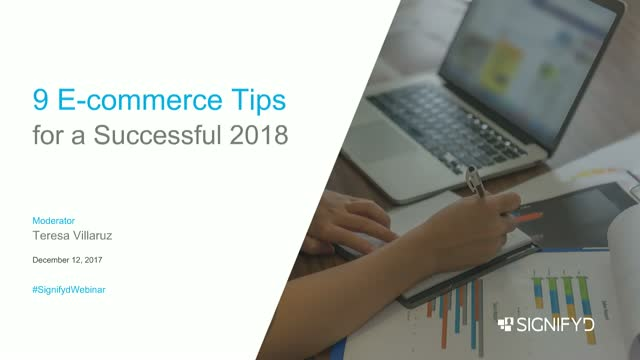 9 Ecommerce Tips for a Successful 2018