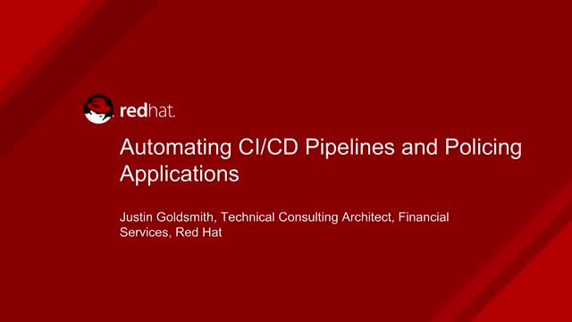 Automating CI/CD Pipelines and Policing Applications