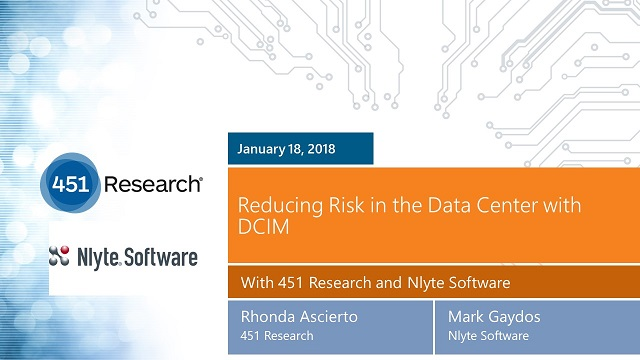 Reducing Risk in the Data Center with DCIM