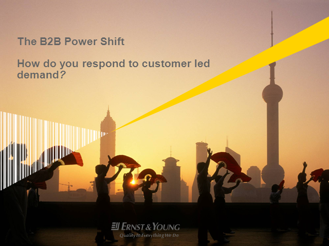 The B2B power shift: How do you respond to customer-led demand?