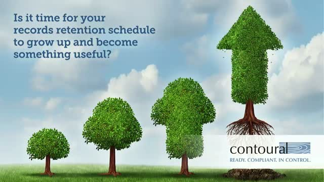 Is It Time for Your Retention Schedule to Grow Up and Become Something Useful?