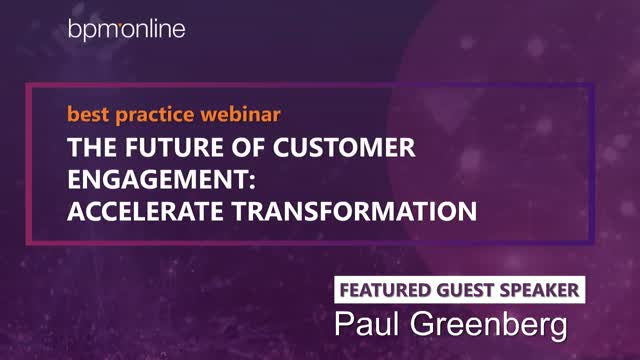 The future of Customer Engagement: accelerate transformation - DEC 7, 2:00 pm ET