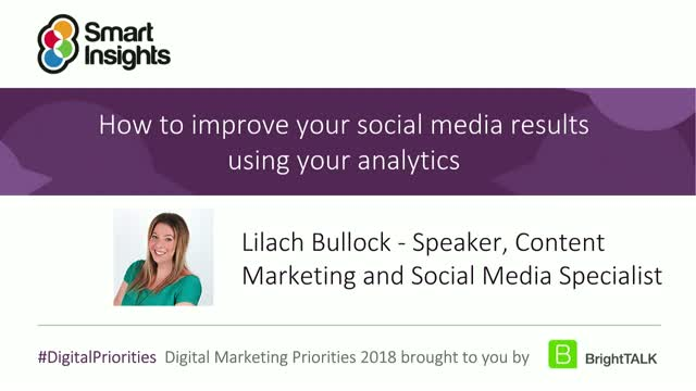 How to improve your social media results using your analytics