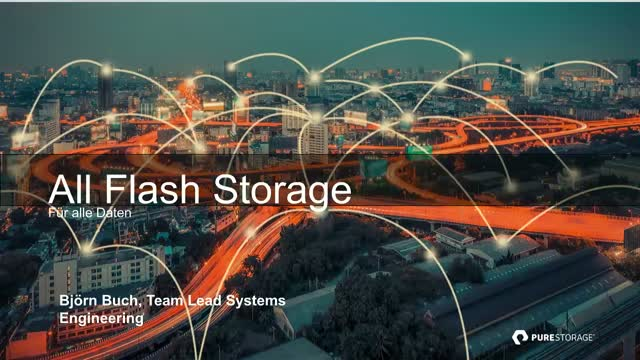 All Flash Storage - Für alle Daten