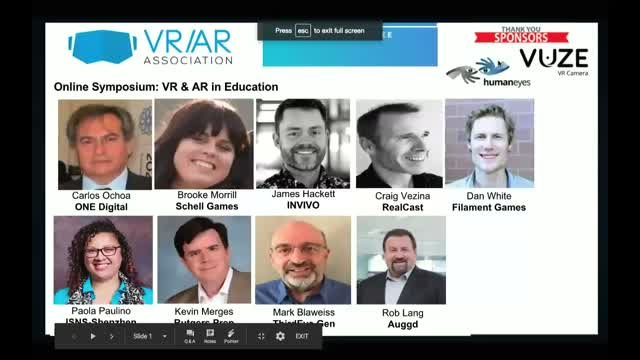 VR & AR in Education