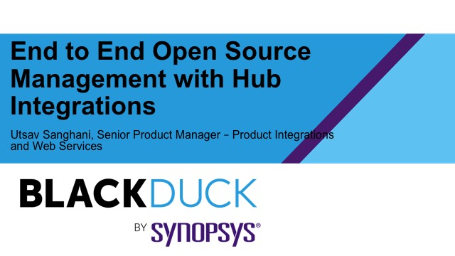 End-to-End Open Source Management with Hub Integrations