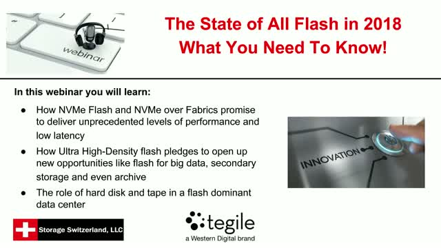 All-Flash in 2018 - What You Need to Know