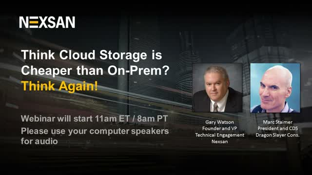 Think Cloud Storage is Cheaper Than On-Prem? Think Again!