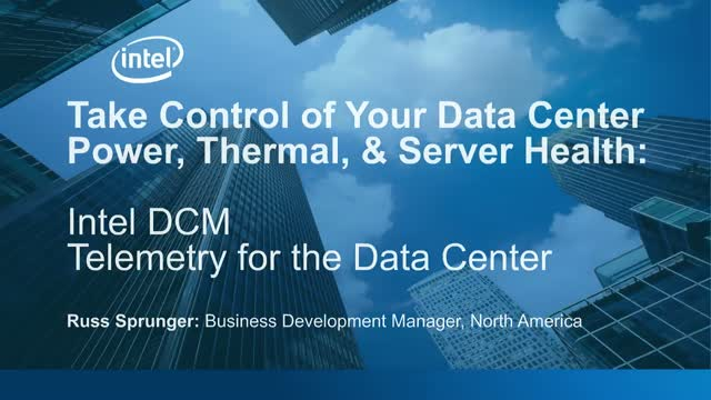 Take Control of Your Data Center Power & Server Health
