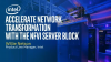 Simplifying Network Functions Virtualization Infrastructure