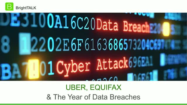 Uber, Equifax and the Year of Data Breaches