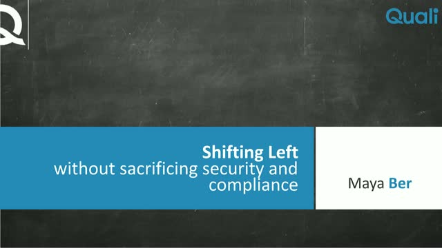 [Webinar] Shifting Left Without Sacrificing Security and Compliance