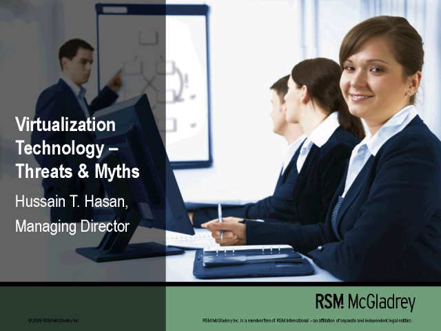Virtualization Technology- Threats and Myths