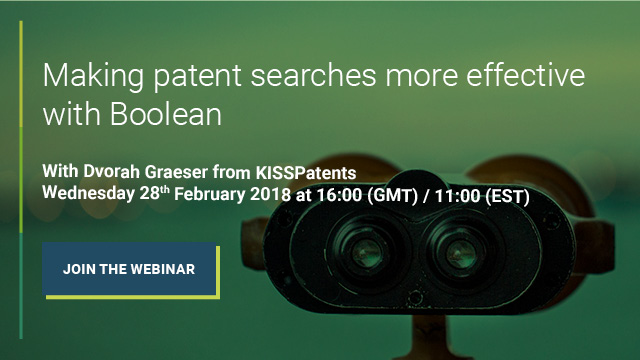 Making patent searches more effective with Boolean