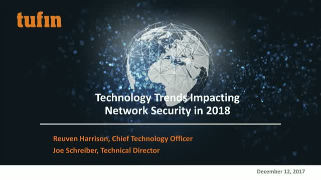Technology Trends Impacting Network Security in 2018