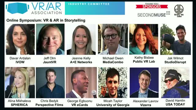 VR & AR in Storytelling