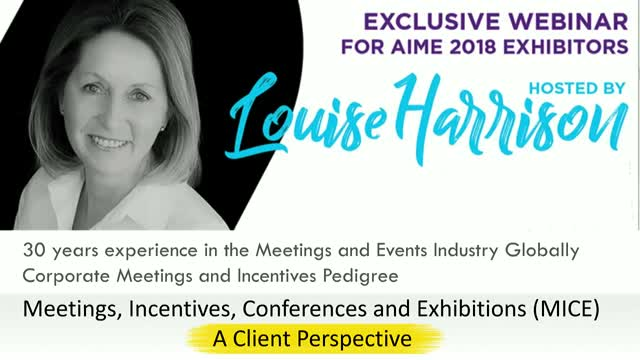 Louise Harrison - Understanding the MICE client