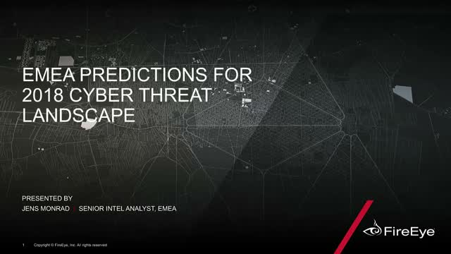 Cyber Security Predictions: What is in store for the EMEA region