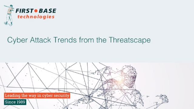 Cyber Attack Trends from the Threatscape