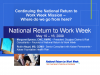 National Return to Work Week - Where do we go from here?