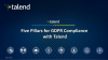 5 Pillars for GDPR Compliance