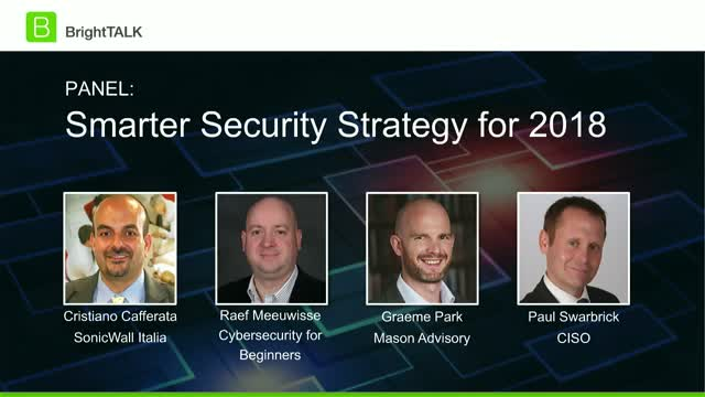 Crafting Smarter Security Strategy in 2018