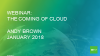 Cloud Computing and what it means for Payments