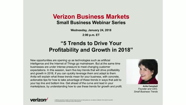 5 Trends that Will Drive Your Profitability & Growth in 2018