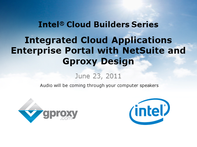 Gproxy and Intel: A balanced compute model for the cloud