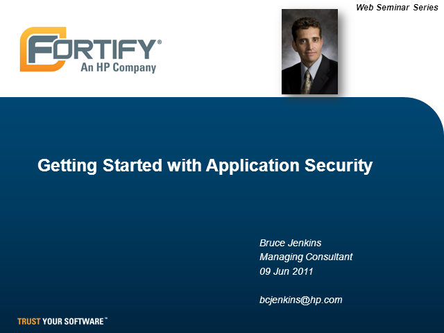 Getting Started with Application Security