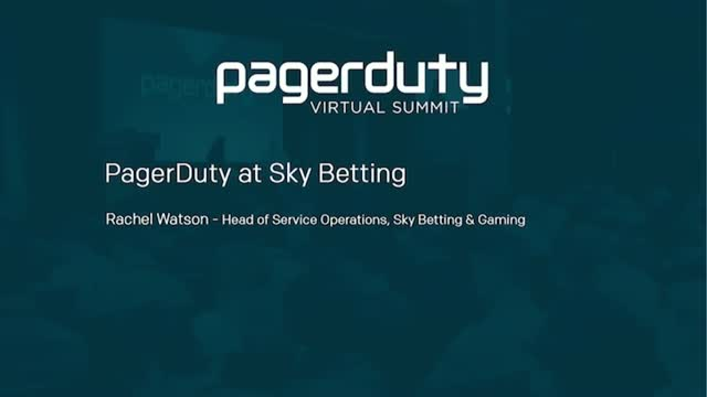 Sky Betting Operations with Pagerduty