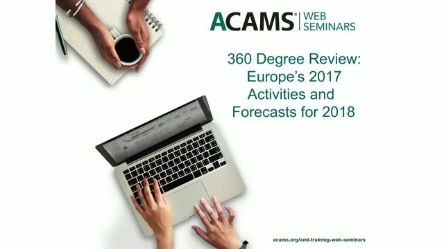 360 Degree Review: Europe's 2017 Activities and Forecasts for 2018