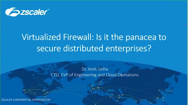 Virtualized Firewall: Is it the panacea to secure distributed enterprises?