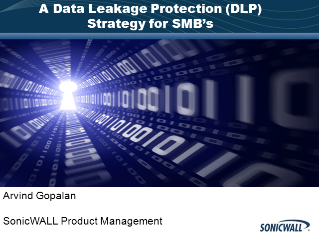 A Data Leakage Prevention Strategy for SMBs