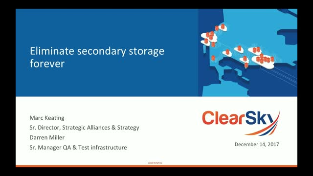 5 Ways to Eliminate Secondary Storage Forever