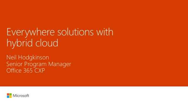 Everywhere Solutions with Hybrid Cloud