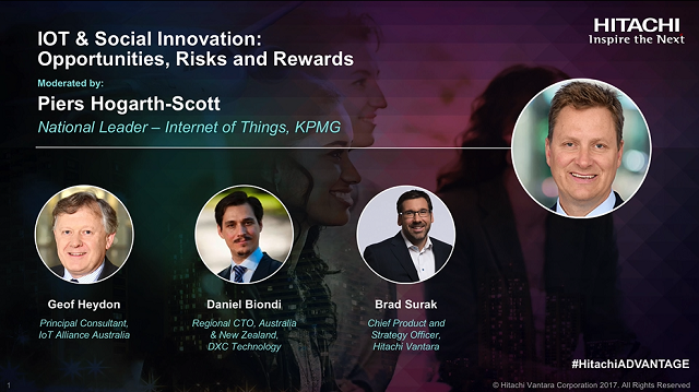 IOT & Social Innovation Panel: Opportunities, Risks and Rewards