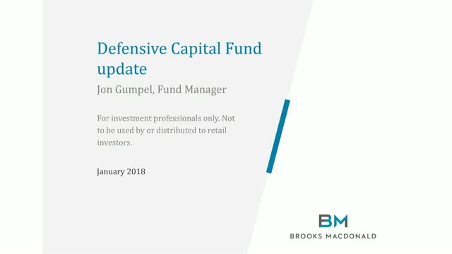 Defensive Capital Fund Update
