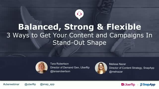 Balanced, Strong & Flexible: 3 Ways to Get Your Content In Stand-Out Shape
