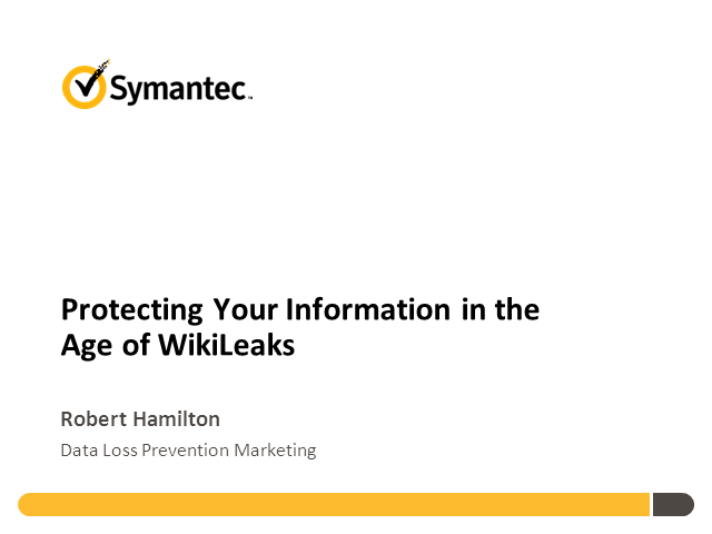 Protecting Your Information in the Age of WikiLeaks