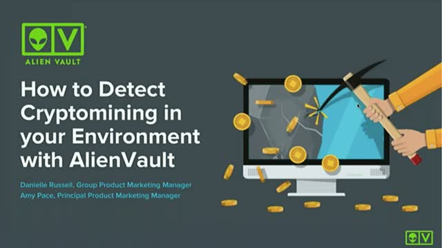 How to Detect Cryptomining in your Environment with AlienVault