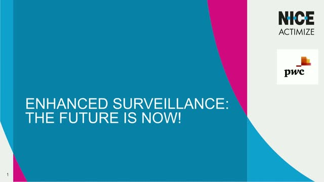Enhanced Surveillance: The Future is Now