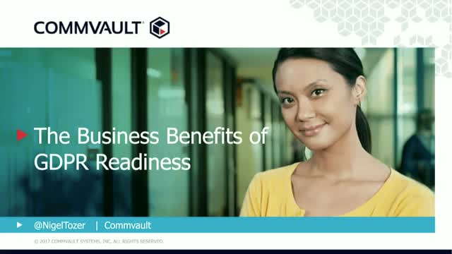 The Business Benefits of GDPR Readiness