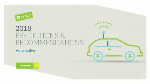 2018 Predictions & Recommendations: Automotive & Connected Cars