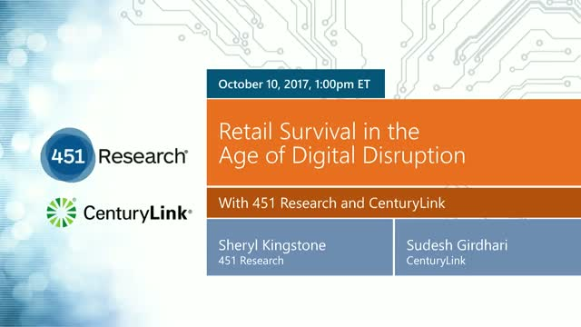 Retail Survival in the Age of Digital Disruption