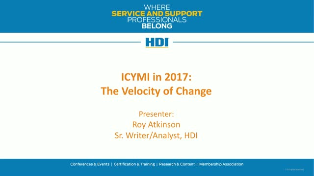 In Case You Missed It in 2017: The Velocity of Change
